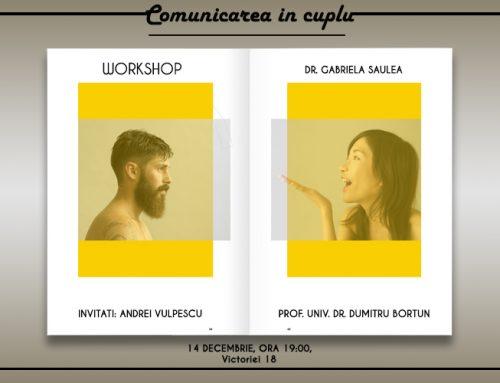 """Workshop """"Comunicarea în cuplu"""""""