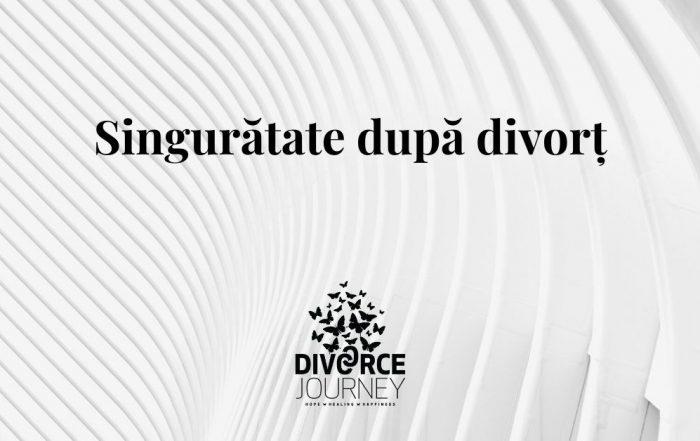 Singurătate după divorț